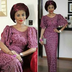 Lovely And Beautiful Lace Styles For Good Looking Ladies - Fashion - Nigeria