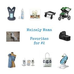 A round up of my favorite baby gear products to have when welcoming your second child.
