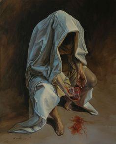Classic Paintings, Old Paintings, Dark Fantasy Art, Arte Punk, Renaissance Kunst, Art Ancien, Islamic Paintings, Arte Obscura, Ap Art