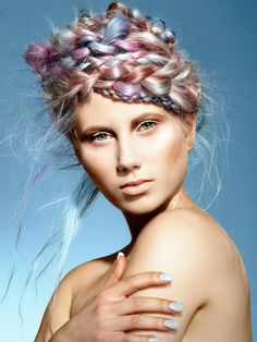 Colour 2014: Wella Trend Vision Finalists - Rokk Ebony | See the full #collection at salonmagazine.ca