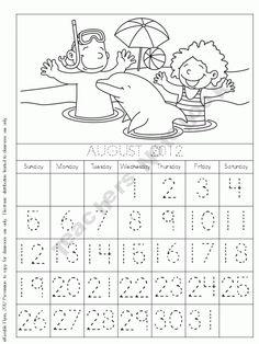 Morning Calendar Work