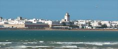 Picturesque Essaouira - pearl of Morocco at the Atlantic Ocean