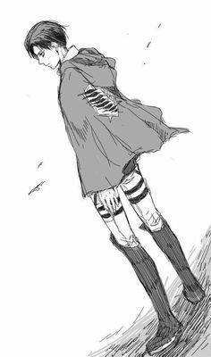 Levi Ackerman..Attack on titan..Shingeki no kyojin..manga..fanart..