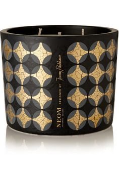 Neom Organics + Jenny Packham Real Luxury Lavender, Jasmine and Brazilian Rosewood scented candle Gold Candles, Candles And Candleholders, Luxury Candles, Scented Candles, Candle Jars, Candels, Candle Holders, Chai, Diffuser
