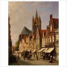 Koestraat. 1890 nu de Choorstraat