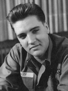 Elvis Presley aka The King of Rock and Roll