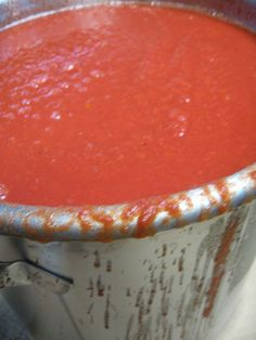 Authentic Italian Sauce Recipe stored in mason jars!! A Mazing!!!  Just like me and my Mom make.