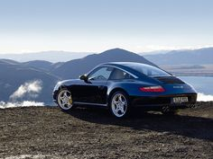 Porsche Targa 4S  Midnight Blue exterior with sea blue interior  Chosen as a bad weather car and it's a Porsche...duh