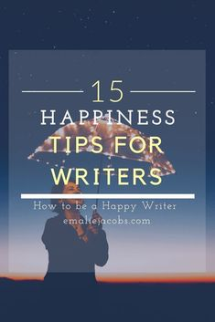 15 Tips to Being a Happy Writer – Emalie Jacobs Fiction Writing, Writing Advice, Writing Resources, Writing Help, Writing Skills, Writing A Book, Writing Prompts, Writing Ideas, Improve Writing