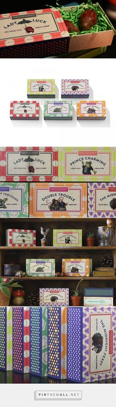 Fortnum & Mason - matchbox chocolate novelty range — The Dieline - Branding & Packaging
