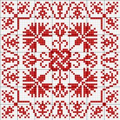 Square tapestry pattern 4
