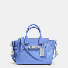ecb281e7aa COACH SWAGGER 20 IN PEBBLE LEATHER Coach Handbags Outlet
