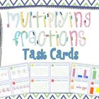 *New product!* 40 Multiplying Fractions Task Cards using visual models and meeting Common Core Standards for and grade. Perfect for differ. Multiplying Fractions, Common Core Standards, 5th Grades, Task Cards, Classroom Decor, Middle School, School Stuff, Career, Management
