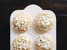 Little Baby Garvin: Blueberry Streusel Muffins