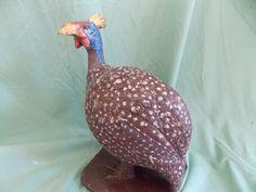 Solid chocolate guinea fowl