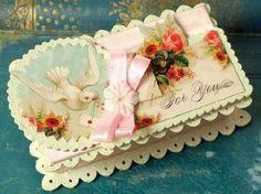 Beautiful Victorian style gift box from Nanalulu's Linen Closet http://www.nanaluluslinensandhandkerchiefs.com/index.cfm/fa/items.main/parentcat/19831/subcatid/0/id/500642