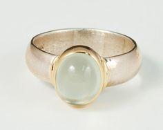 Green Moonstone Ring