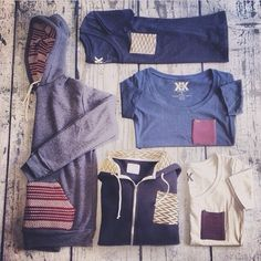 """""""Great photo from one of our retail partners featuring our knit pocket apparel. Thanks for the pic @Wylene Geiger Beach!"""""""