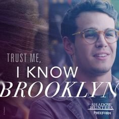 If you're in Brooklyn this summer and need a guide… Alberto Rosende, Shadowhunters Series, Lady Midnight, Simon Lewis, The Dark Artifices, The Infernal Devices, Malec, Shadow Hunters, Cassandra Clare