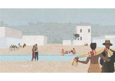 Maria Guerreiro Morais · Tagus Baths: Spaces of Water and Light in Aterro da Boavista