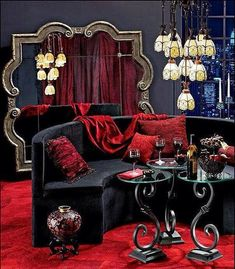 modern/dark/gothic furniture