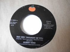 ALBERT KING: Soul 45 Thought Of You - Evil Tomato -NM