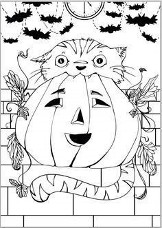 FREE #colouringin sheet for #halloween for kids! More for your #halloweenparty here http://www.allaboutpartybags.co.uk/extra/51/Free_Halloween_Printables.html#.UlPbe1CkqE6