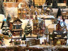 Dickens Village Display