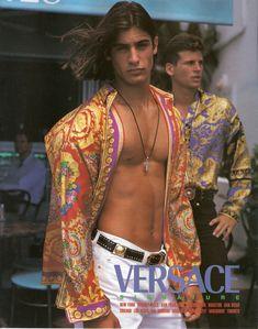Versace Menswear 1993 by Bruce Weber