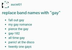 *cough* brallon<<<NO RYDEN<<the war begins lol<<< also how is there no gays in my Chem??? Does Frerard mean anything to you?