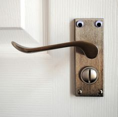 Eye-bombing (or in other words, sticking googly eyes on lots of things around the house....plants, tools, food...)