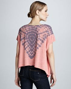Free People V Neck Tee - Neiman Marcus