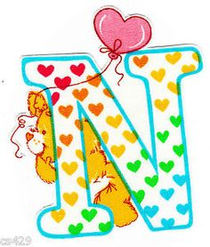 ❤️Care Bears and Friends ~ The Letter N