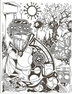 printable Advanced Coloring Pages online for adults - Enjoy Coloring