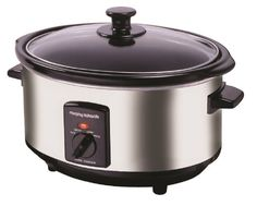 Morphy Richards 48710 Oval Slow Cooker 3.5 L - Polished Stainless Steel: Amazon.co.uk: Kitchen & Home