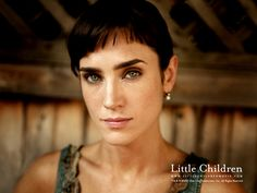 More lovely bangs to covet. And so shiny. It helps that she's...well, you know. JENNIFER CONNELLY. But what can you do?