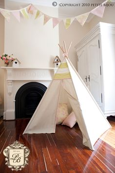 cute, my kids love their tee pee but this would be a welcome addition!