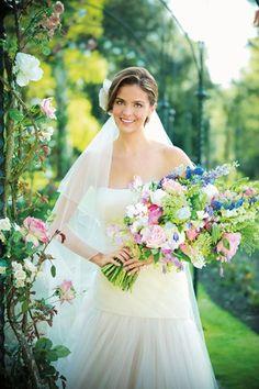 50 Wedding Bouquet Ideas We Love Brides Magazine Prom Flowers, Bridal Flowers, Flower Bouquet Wedding, Bride Bouquets, Bridesmaid Bouquet, Chanel Wedding Dress, Wedding Dresses, Wedding Etiquette, Brides And Bridesmaids