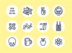 Timo Meyer - Studio Oh+Ah #icon #picto #pictogram
