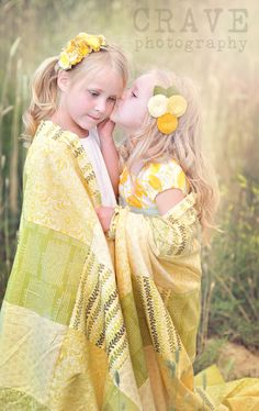 """sweet sister pic, love the """"quilt"""""""