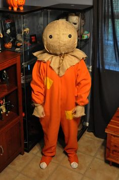 halloween addict how to make a sam from trick r treat mask - Trick R Treat Halloween Costume
