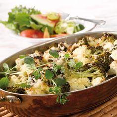 Sydänmerkki / Timo Viljakainen Potato Salad, Cauliflower, Potatoes, Vegetables, Ethnic Recipes, Food, Cauliflowers, Potato, Essen