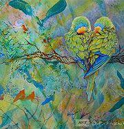 Pamela Kirkham of Kirkham Fine Arts creates stunning paintings of nature's wonders. Nature Paintings, Love Birds, My Etsy Shop, Creatures, Fine Art, Artwork, Artist, Hdr, Image
