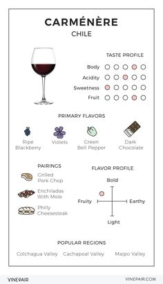 An Illustrated Guide to Carménère from Chile