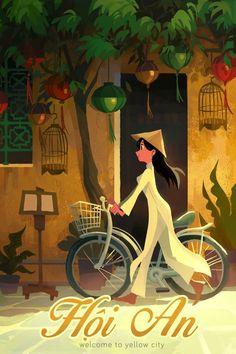 Hoi An, an art print by Tiffany Diep - INPRNT