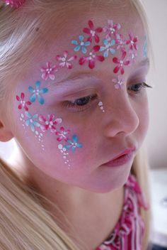 Flower Girl by Jennifer Parker @ Kaleidoscope Face Painting