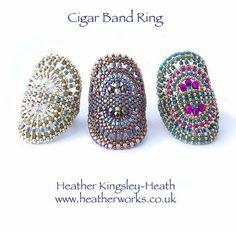 Cigar band ring