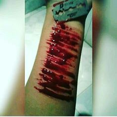 Depression Kills, Self Destruction, Mental Disorders, Tattoo Quotes, It Hurts, Blood, Feelings, Breakup, Dark