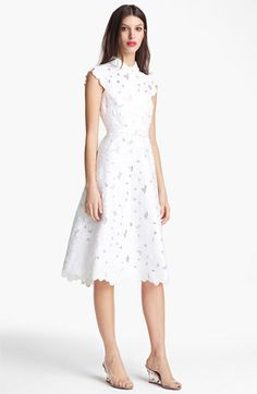 Valentino Floral Pique Dress       $4,990.00