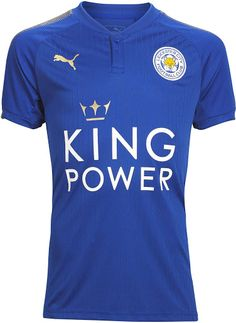 b94627071e4 Leicester City 17-18 Home Kit Released - Footy Headlines Leicester Football